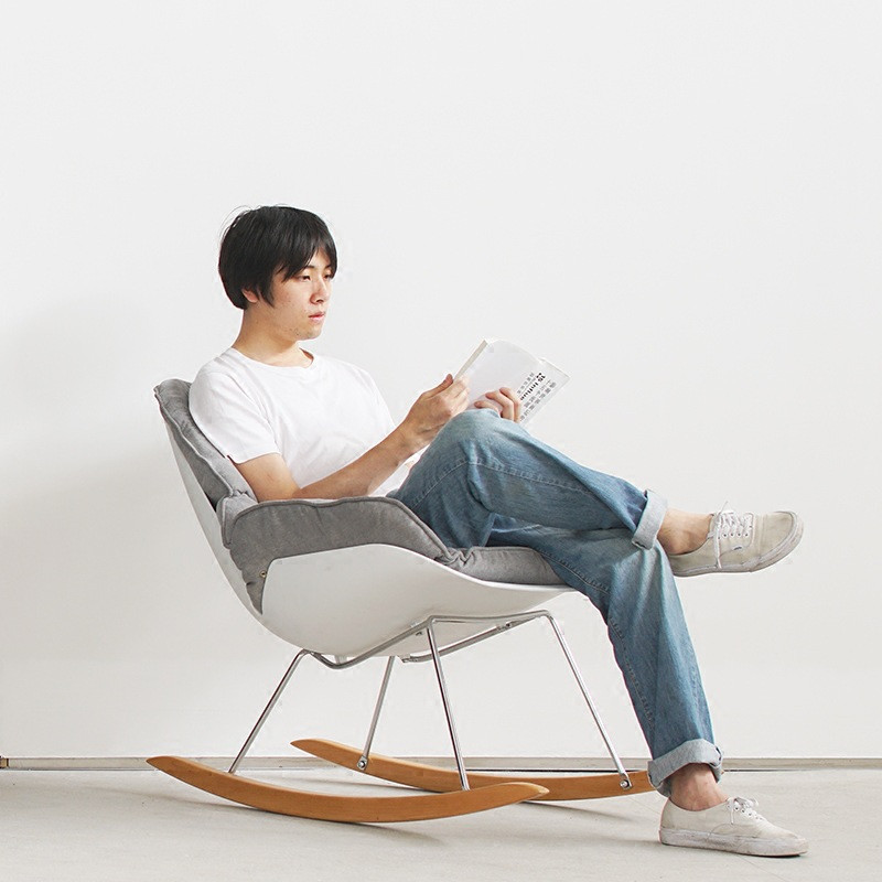 Ghế Nordic Rocking Chair 1